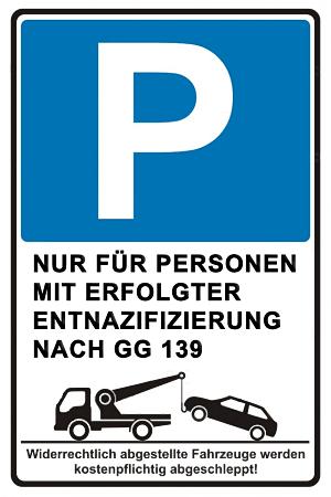 Parken nur noch mit Sondererlaubnis