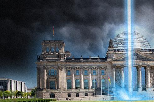 Laserstrahl der Wahrheit vor dem Reichstag angekündigt!